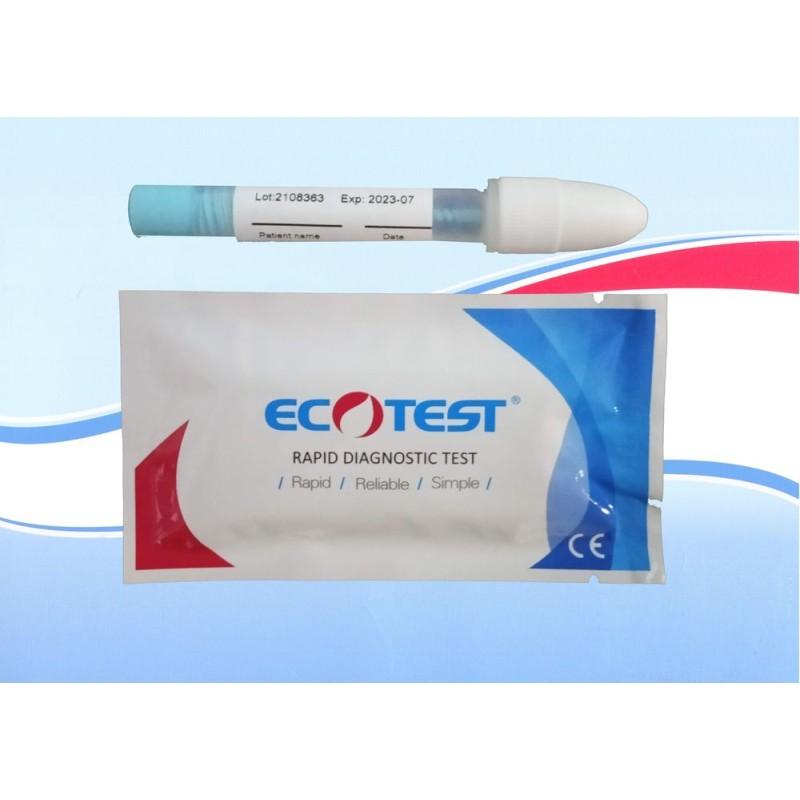 Těhotenský test ECOTEST® velmi ranného těhotenství 10mlU 1ks